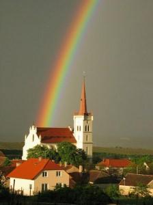 Если увидите радугу на небе, знайте, Я с вами